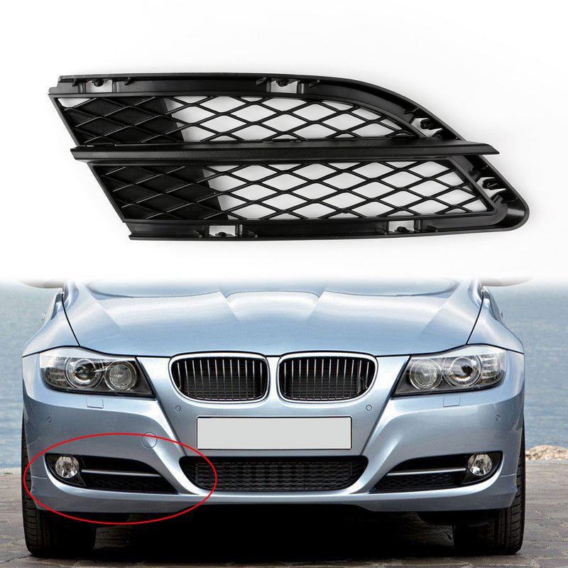 Car Lower Front Mesh Grille Grills For BMW 3-Series E9 E91 29-212 Right Side