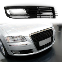 ABS Car Lower Bumper Grille Fog Light Grill w/Chromed For Audi A8 D3 (08-10)