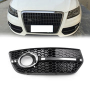 1PC Left Front Bumper Grill Fog Light Lamp Covers Trim For Audi Q5 2009-2011