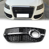 1PC Right Front Bumper Grill Fog Light Lamp Covers Trim For Audi Q5 2009-2011