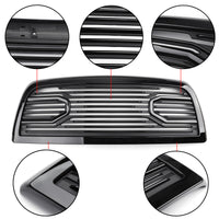 Big Horn Black Packaged Grille Replacement Shell For 10-18 RAM 2500/3500