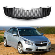 1PC Front Lower Bumper Grille Grill Inserts Trim Covers For 09-14 Chevy Cruze