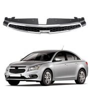 1PC Front Upper Grill Inserts Trim Covers For 09-14 Chevy Cruze Grille Overlay