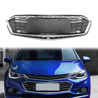 Generic 1PC Replacement Part Front Bumper Lower Grille For Chevrolet Cruze 2016-2018