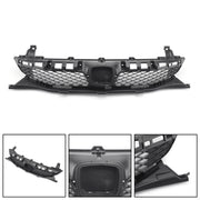 New Front Bumper Grille Grill Black For 2009-2011 Honda Civic Sedan 4 Door