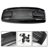 Generic Front Black Big Horn Grille+Replacement Shell For 2006-2009 RAM 2500+3500
