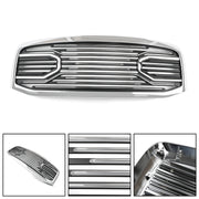 Big Horn Chrome Packaged Grille + Shell For 06-08 Ram 1500+06-09 Ram 2500+3500 Generic
