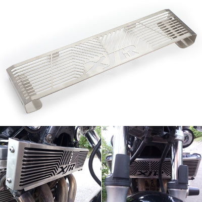 Silver Radiator Grill Guard Protector For Yamaha XJR 1300 XJR1300 1998-2008