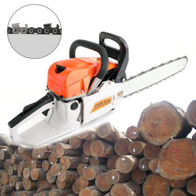20 52CC Gasoline Chainsaw Cutting Wood Gas Sawing Aluminum Crankcase Chain Saw