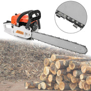 22'' 52CC Chain Saw Cutting Wood Aluminum Chain Saws Best Gasoline Chainsaws Red for Sale