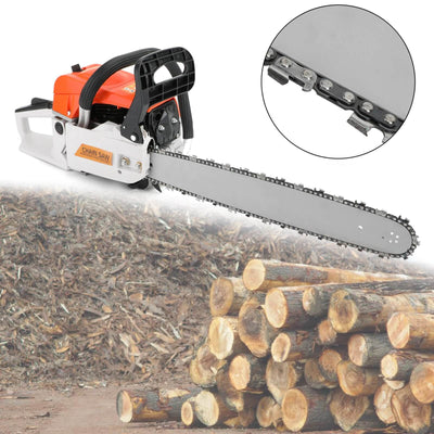 22 52CC Gasoline Chainsaw Cutting Wood Gas Sawing Aluminum Crankcase Chain Saw