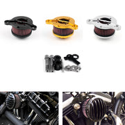 Air Cleaner Intake Filter System Kit for Harley Sportster XL883 XL1200 1988-2015