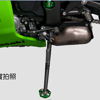Side Stand Kickstand Plate Pad For Kawasaki ZX 6R 10R Z1000 ER6N/F Z800 VERSYS Generic