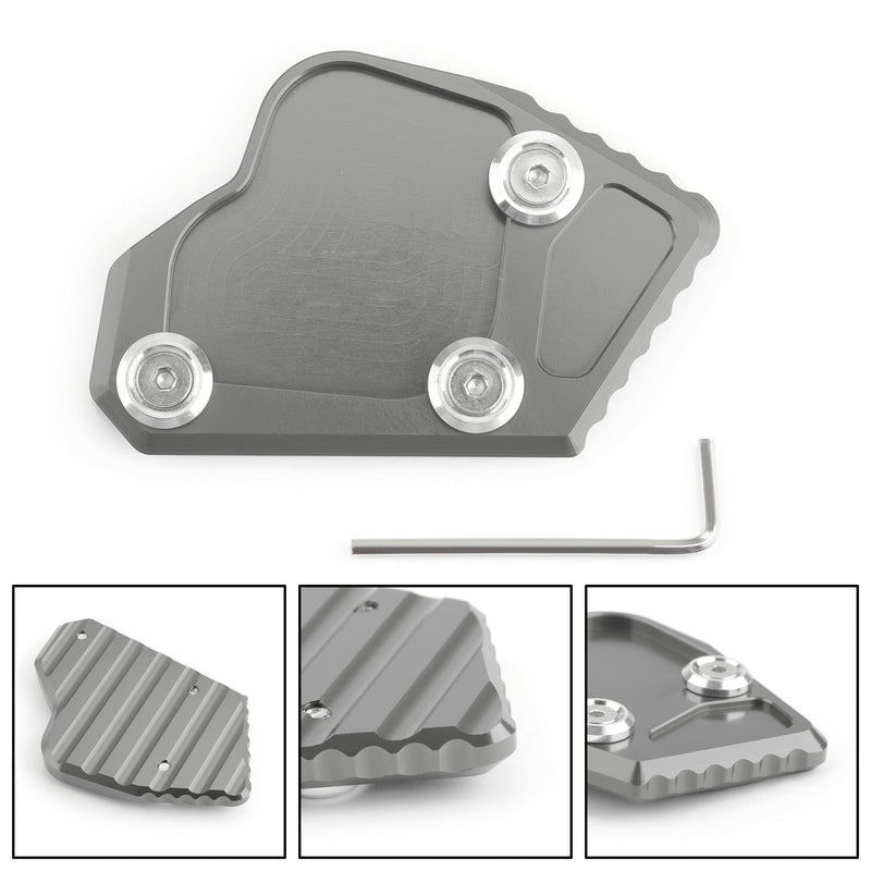 Side Pad Kickstand Stand Extension Plate For BMW K1600 GT GTL 2011-2015 Generic