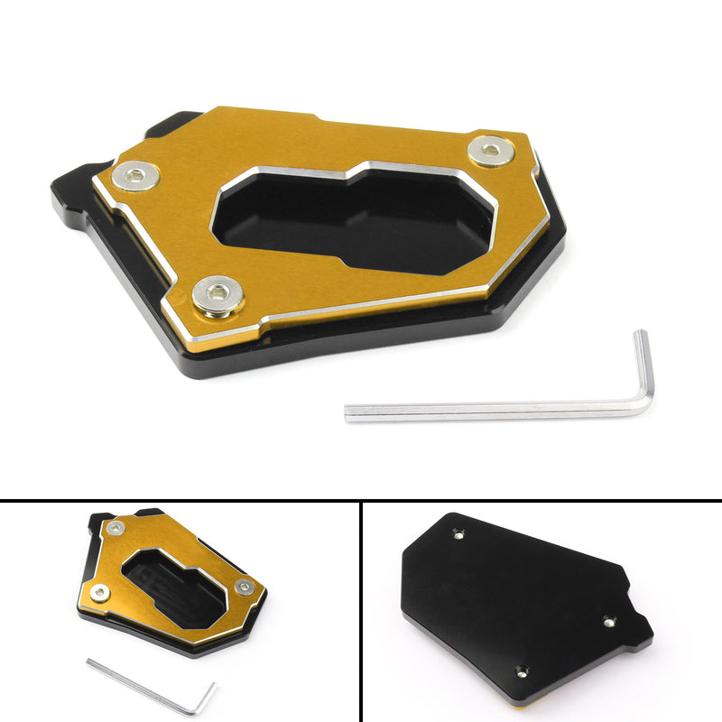 Kickstand Side Stand Enlarge Extension Plate For BMW R1200 GS Adv 14-16 Generic
