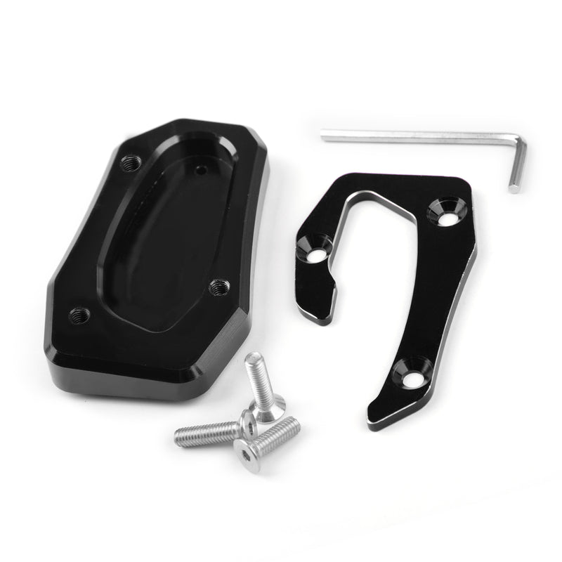 Kickstand Side Stand Plate Extension Pad For Yamaha TMAX T-MAX 53 SX/DX 17-18