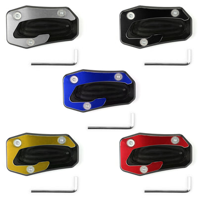 Kickstand Side Stand Plate Extension Pad For Yamaha TMAX T-MAX 530 SX/DX 17-18