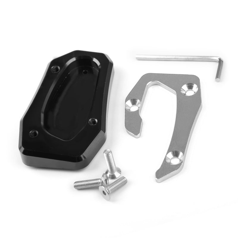 Kickstand Side Stand Plate Extension Pad For Yamaha TMAX T-MAX 530 SX/DX 17-18 Generic