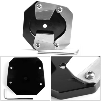 CNC kickstand sidestand extension enlarger pad For Yamaha XT1200ZE Super Tenere