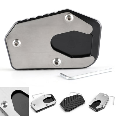 Sidestand Plate Kickstand Extension Pad For Suzuki V-STROM1000/DL1000 14-17