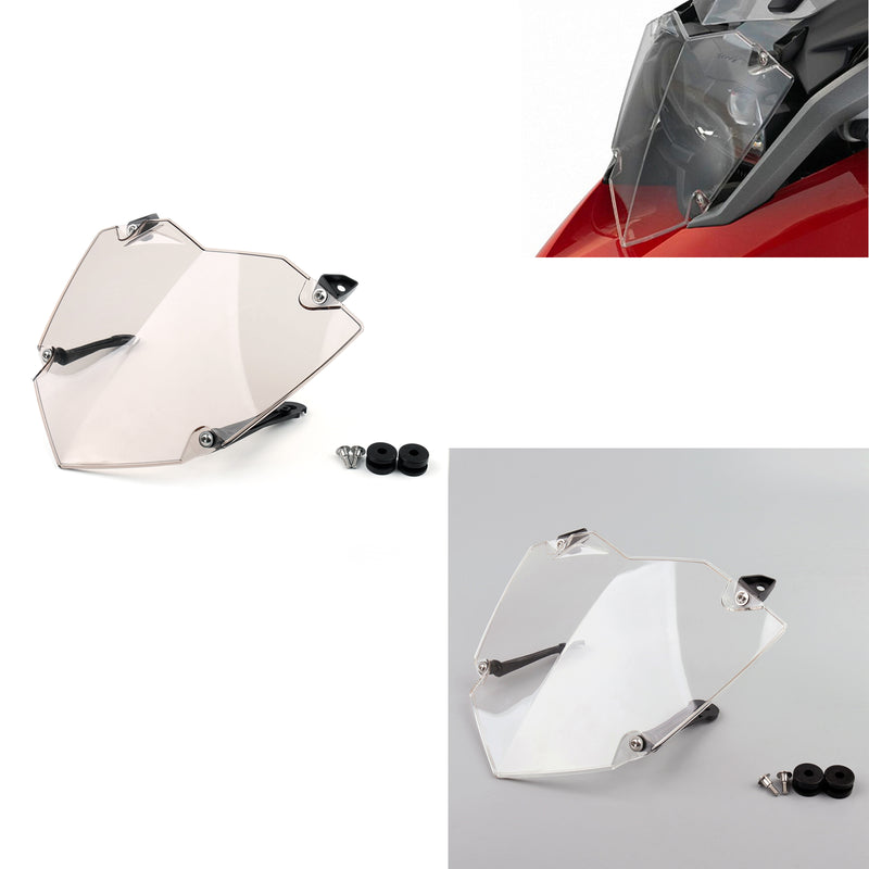 Front Headlight Guard Cover Lens Protector For BMW R1200GS ADV WC 2013-2017
