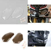 Front Headlight Lens Covers Guard For Honda CRF1000L Africa Twin 2016-2017