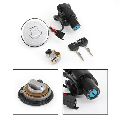 Ignition Switch Fuel Gas Cap Seat Lock Keys Set For Honda CBR250R CBR300R 11-18