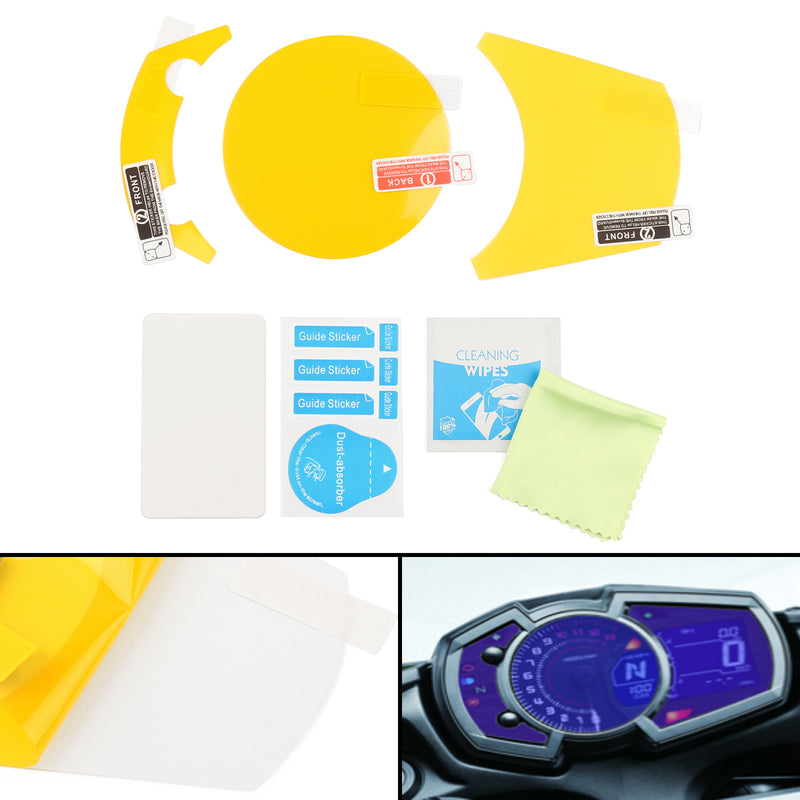 Cluster Scratch Protection Film Screen Protector for Kawasaki NINJA 650 1000