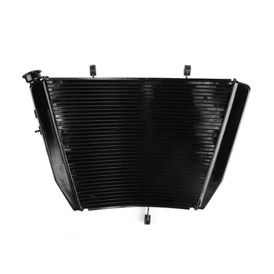 Motor Aluminium Cooler Radiator For SUZUKI GSXR 600 750 2004 2005 04 05 K4 Black