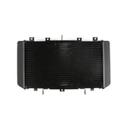 Generic Radiator Cooler Aluminum For Kawasaki Z750 2004-2006 Z750S 2005-2007 Black