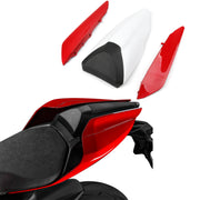 Generic Single-seater Cover Set Trim Fairing Seat Cowl Red For Ducati 959 1299 Panigale