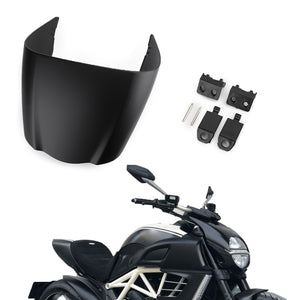 Motorcycle Rear Seat Cowl Cover Fairing ABS Plastic For DUCATI DIAVEL 2011-2013