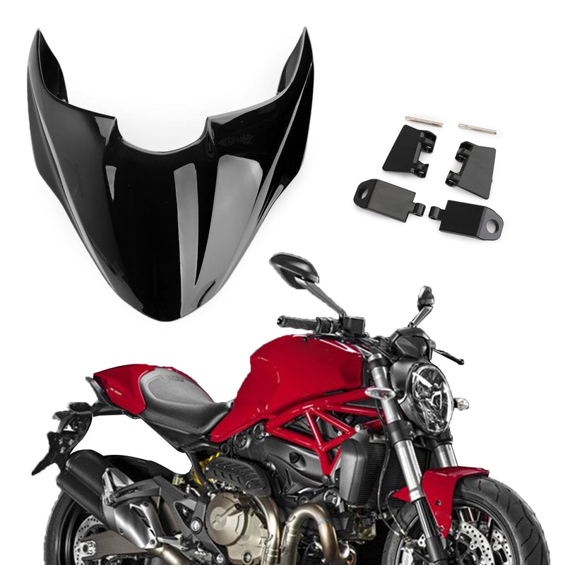 Motorcycle ABS Rear Seat Solo Cowl Fairing Cover For DUCATI 821 2015-2016