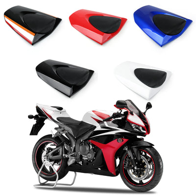 Rear Seat Cover cowl For Honda CBR600RR CBR 600 RR 2007-2012 Black