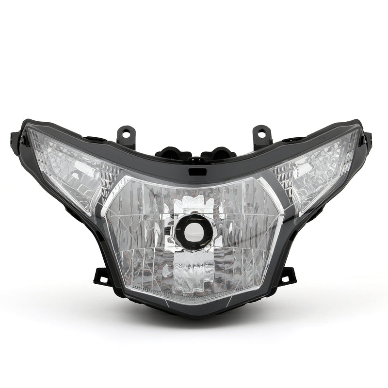 Front Headlight Headlamp Assembly For Honda CBR250R 2011-2012 Clear