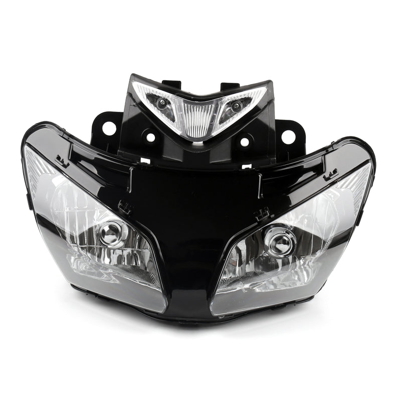 Headlight Assembly Headlamp For Honda CBR500RR CBR 500 RR 2013-2015 Black