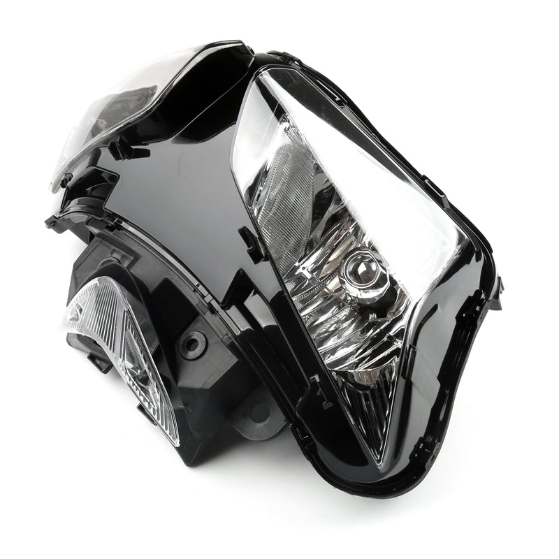Headlight Assembly Headlamp For Honda CBR500RR CBR 500 RR 2013-2015 Black Generic