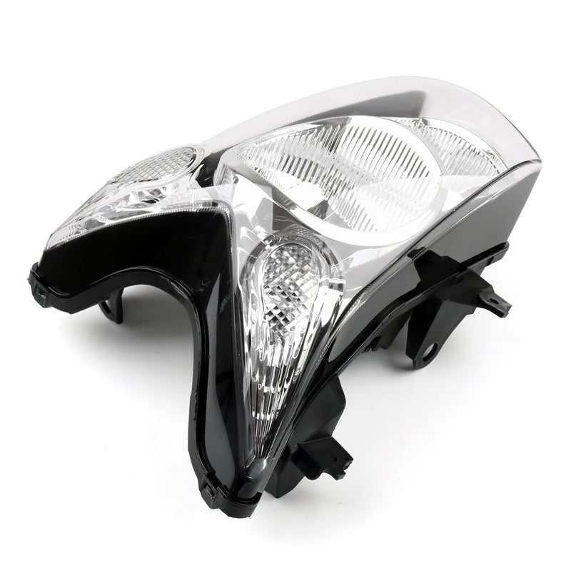 Headlight Assembly Headlamp For Kawasaki ER-6N ER6N ER 6N 2009-2010 Black Generic