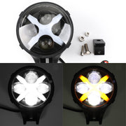 6 X LED Work Fog Light 60W Spot Light For Jeep Wrangler 07-14 Off Road ATV UTE