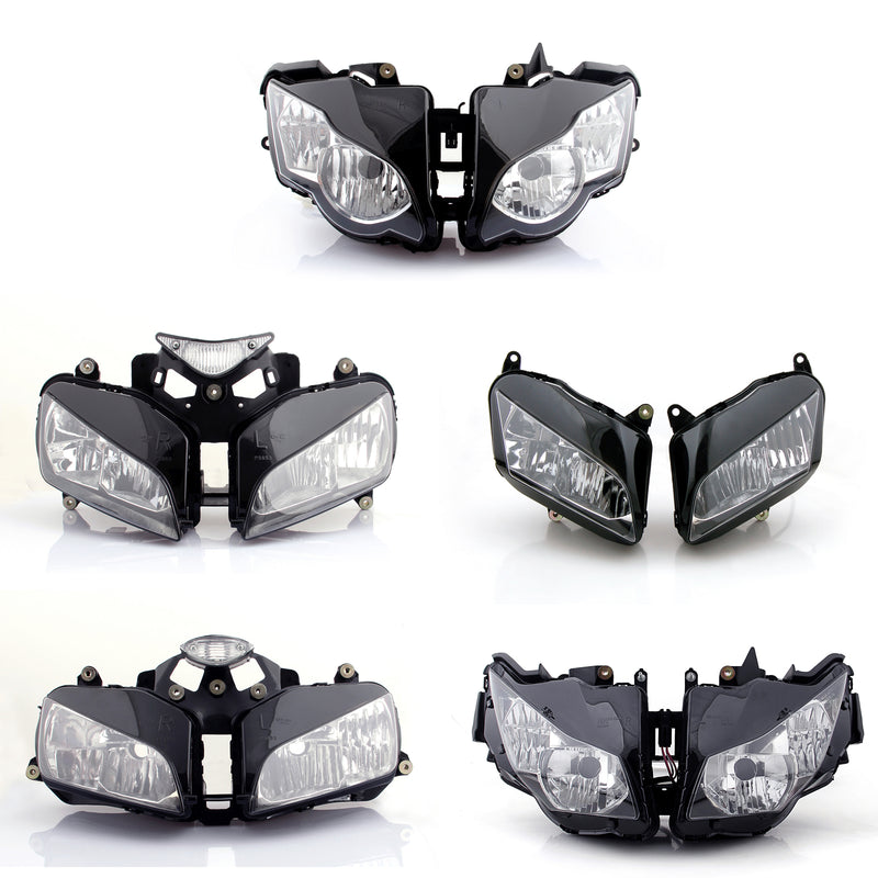 Motorcycle Headlight Assembly For Honda CBR600RR CBR1000RR CBR 600 1000 RR Clear