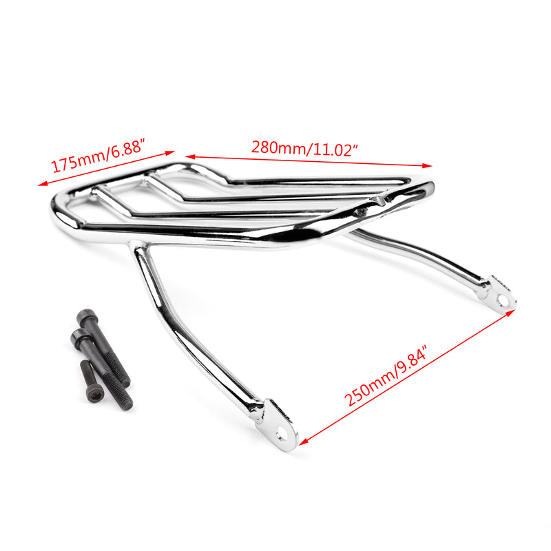 Luggage Shelf Frame Rack For Harley Sportster XL883N 09-18 XL1200 N/V/X 07-18 Generic