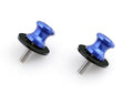 6mm Swingarm Sliders Spools Yamaha YZF R1 R6 R6S FZ6 FZ8 XJR 13 Blue