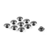 Universal Hex Socket Bolt Screw Nut Head Cover Cap M10 10MM Motorcycle Silver