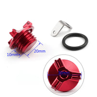 M20 Engine Oil Filler Plug Fill Cap Screw For Honda Ducati Kawasaki Yamaha