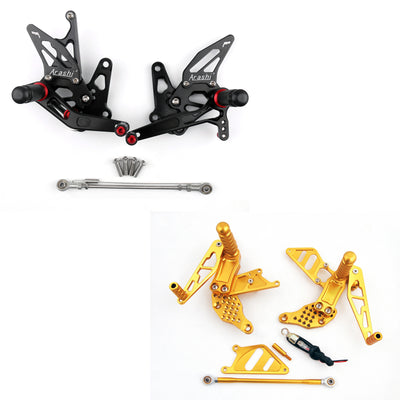 Rearset Rear set Footpegs Adjustable For Suzuki GSXR1300 GSXR 1300 1999-2007
