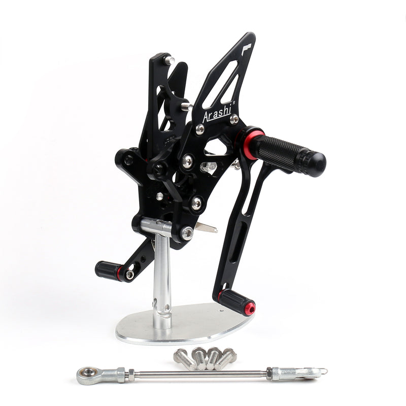 Rearset Rear set Footpegs Adjustable For Yamaha YZF R25 2014-2015 Generic