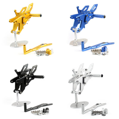 Generic CNC Rearset Adjustable Rear Sets For Yamaha YZF-R1 R1 2015-2016