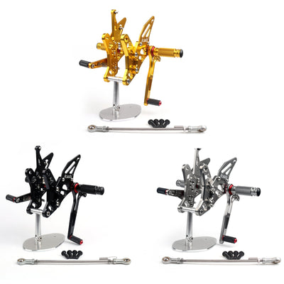 Adjustable Rearsets Footrest Foot Pegs Rear Set For Suzuki SV650/S 2016-2017