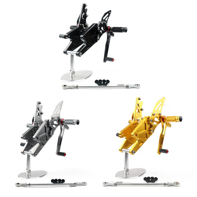 Motorcycle Adjustable Rearset Rearsets Foot pegs For Yamha MT-03/MT25 2015+