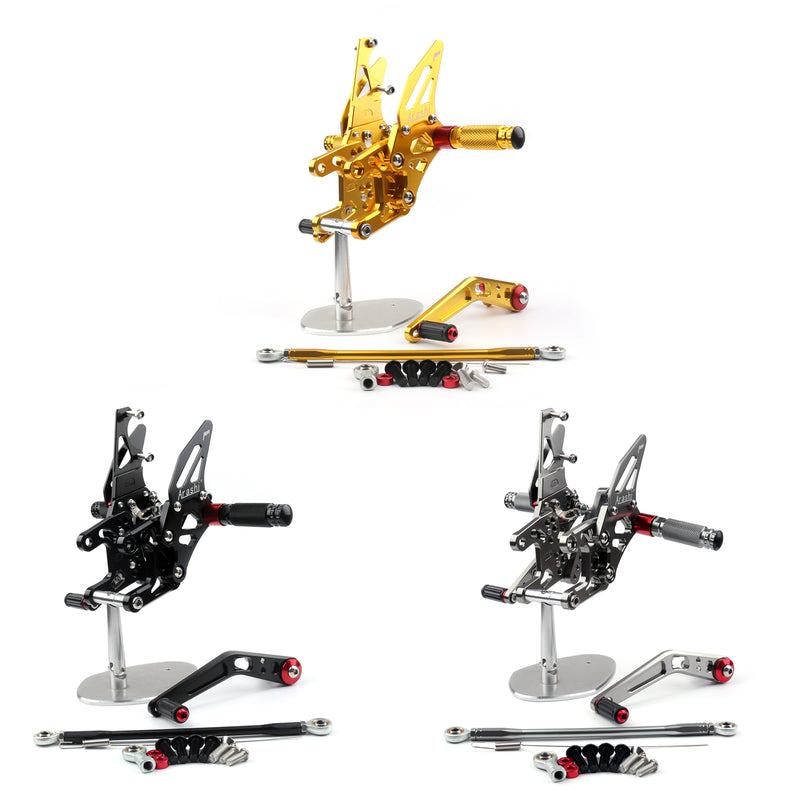 Rearsets Foot pegs Rear sets Footrest For Honda CBR1000 CBR 1000 2017
